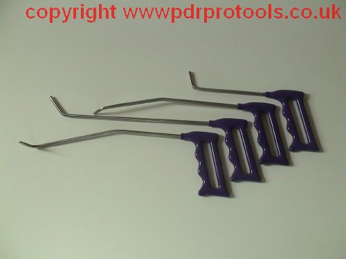 4-piece bendable brace set.