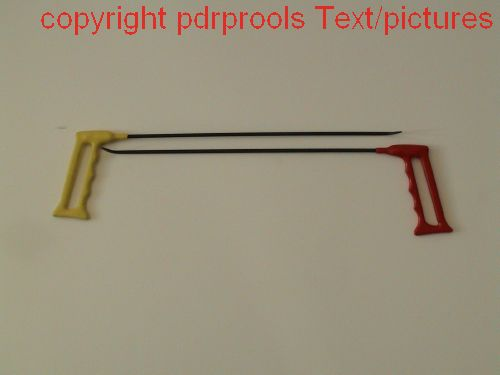 "Wire Tools x 2,  12"" shafts,"