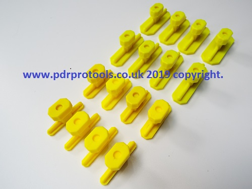 Smooth Faced Crease Tabs, 33.0mm and 52.00mm long.