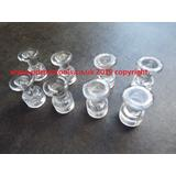 Smooth Series Crystal Ice Tabs,13.0mm Face.