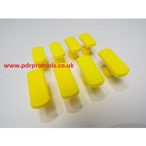 Smooth Faced Crease Tabs, 42 and 28.00mm x 8.